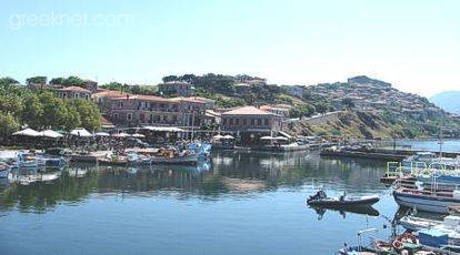 Molivos (Mithymna), the island's most picturesque village